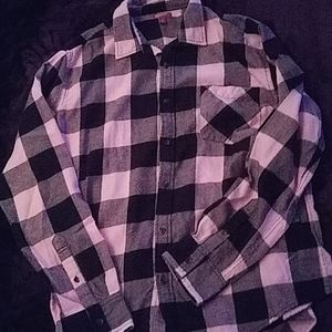 Arizona pink and black flannel